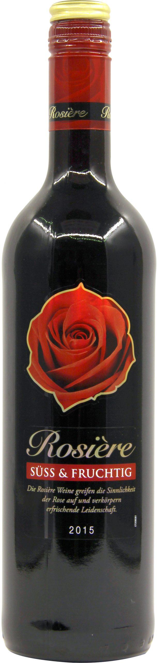 红玫瑰甜型红葡萄酒