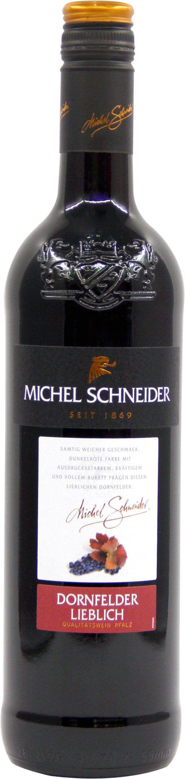 米歇尔施耐德丹菲特半甜红葡萄酒