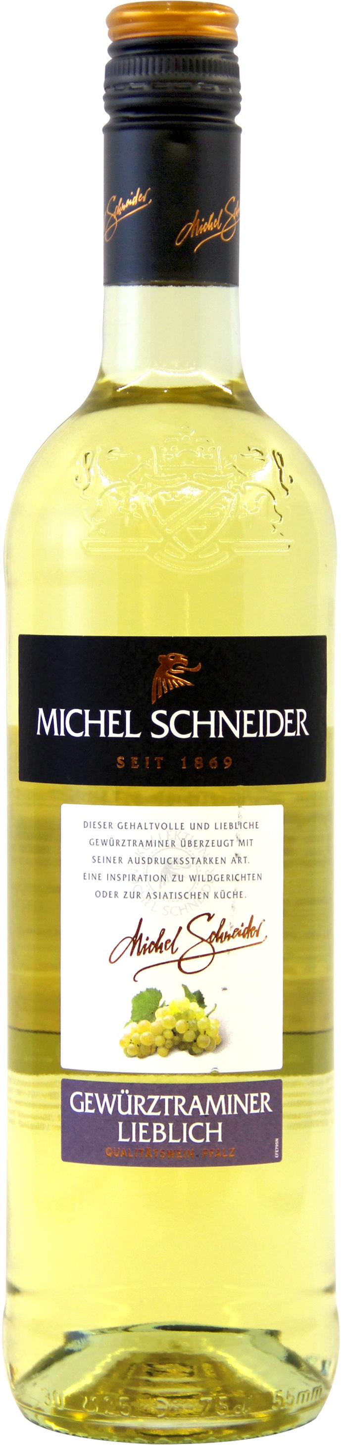 米歇尔施耐德琼瑶浆半甜白葡萄酒