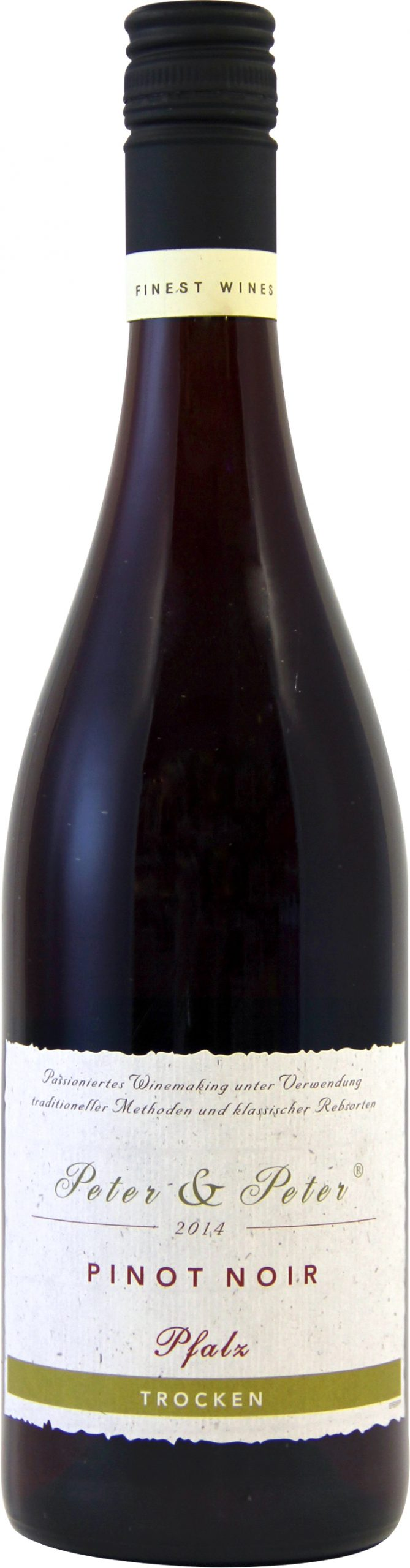 皮特•彼得黑皮诺干红葡萄酒