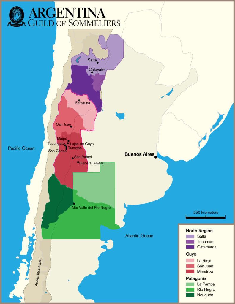 Region Argentina CHEERS - Argentina regions map