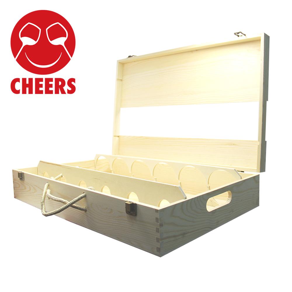 六六顺木质礼盒03-齐饮(CHEERS)进口葡萄酒店